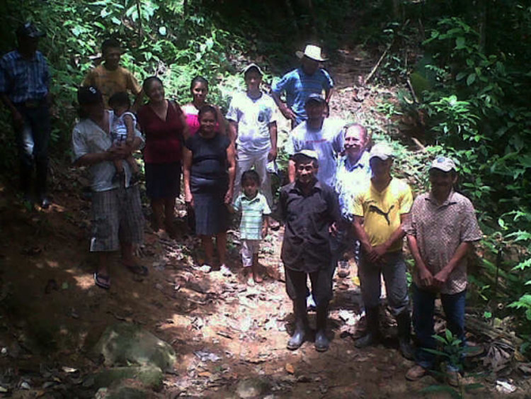 Bonita Oriental, a remote community in Honduras