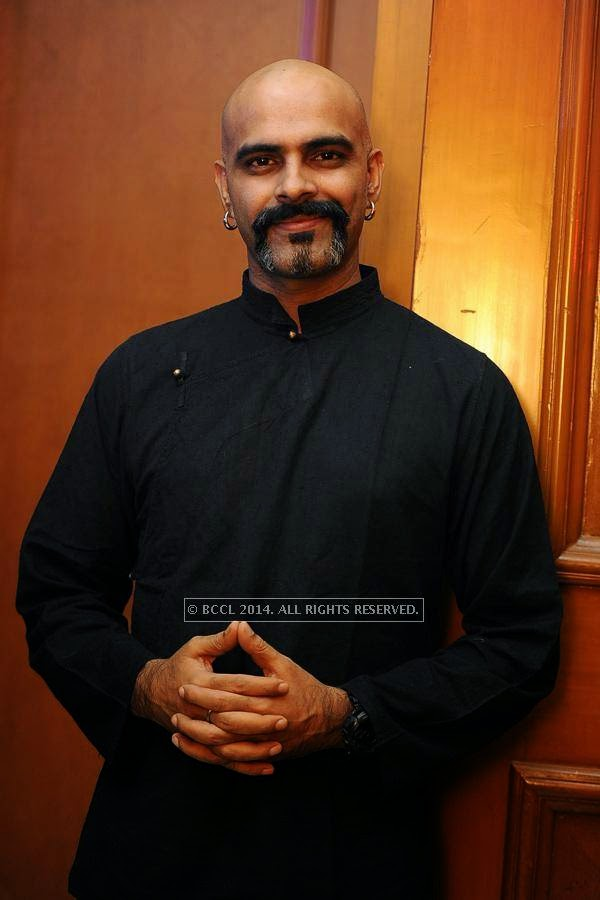 Raghu Ram during the launch of FOX Traveller's new television channel FOX Life, in Mumbai, on July 16, 2014.