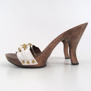 Dolce & Gabbana Wooden Slides