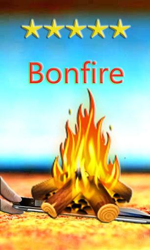 篝火動畫壁紙-真的在燃燒