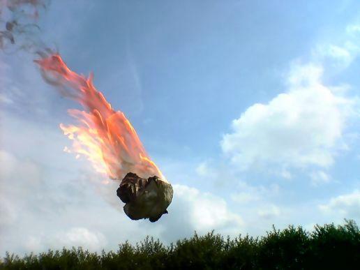 Полдень - воздух и огонь
