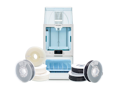 Ultimaker S5 3D Printer Pro Bundle, 50% Off Filament Basic Pack, 2 Year Warranty