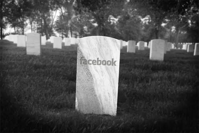 Facebook tombstone