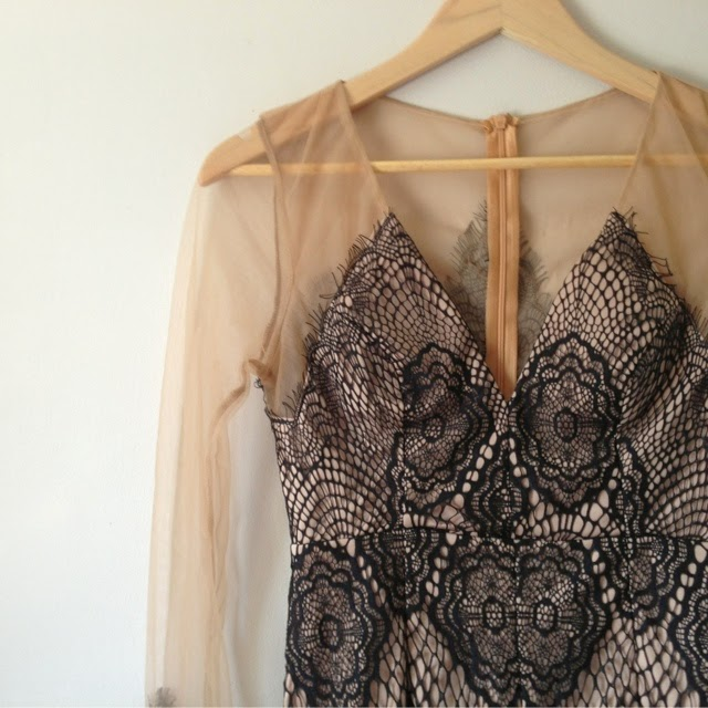Sammi Jackson - Choies Black Lace Dress