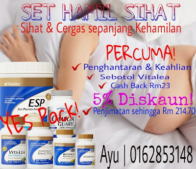 SET HAMIL SHAKLEE - YES pack