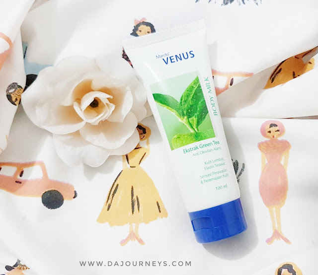 [Review] Marcks' Venus Body Milk Green Tea