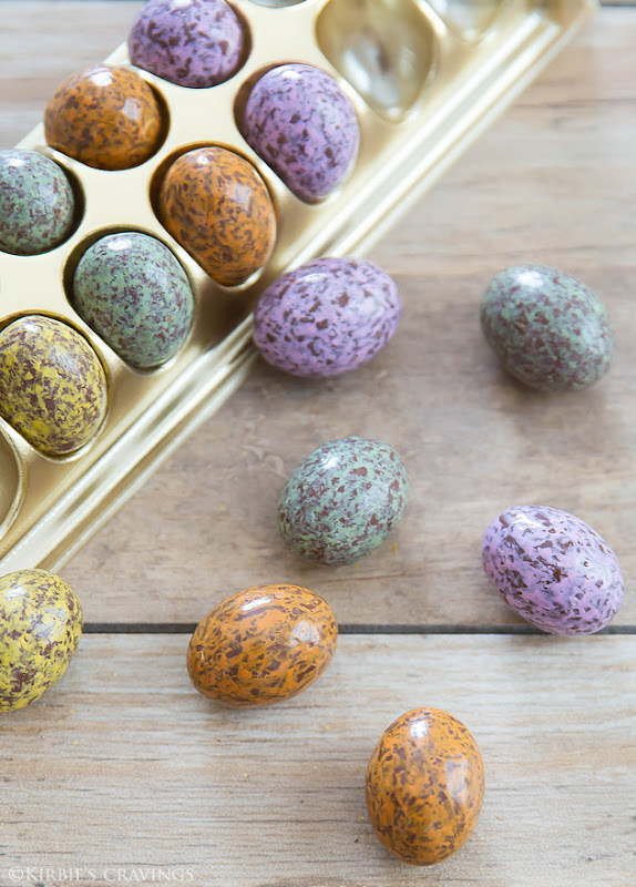 close-up photo of Extraordinary Eggs Marbled Chocolates