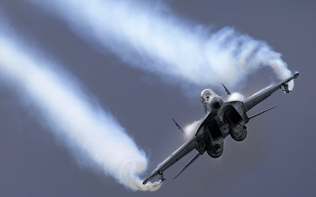 MiG-29 Fulcrum jet fighter wallpaper 3