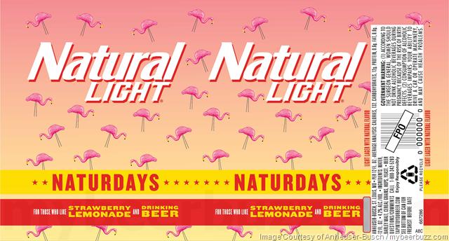 Anheuser-Busch Adding natural Light Naturdays Strawberry Lemonade