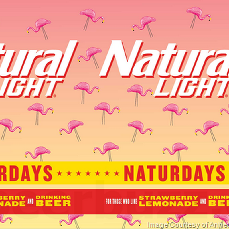 Anheuser-Busch Adding Natural Light Naturdays Strawberry Lemonade
