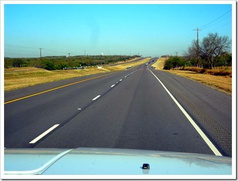 TX roads