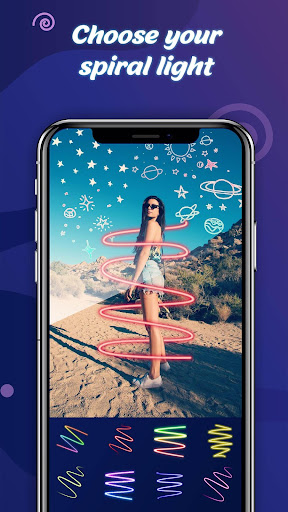 Light Spiral Photo Editor Apk 2