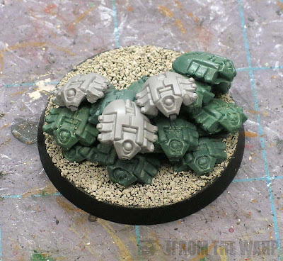 Necron scarab swarm conversion