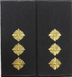 Погони-муфти ВМС Старший лейтенант /повсякденні/ 11*5 см