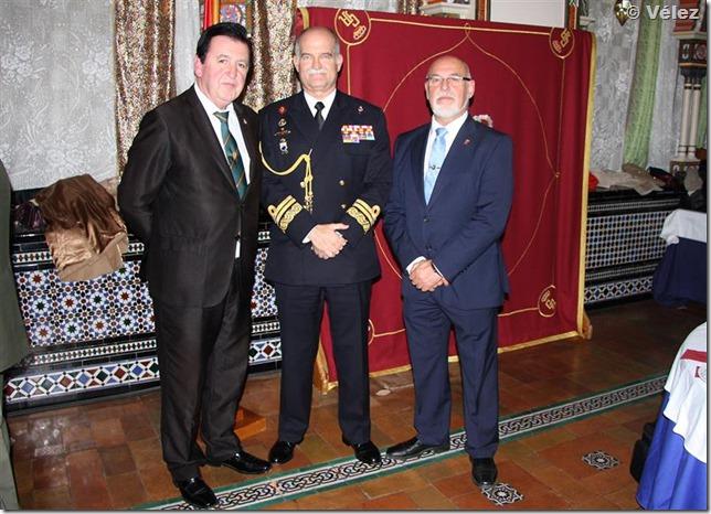 Con el Almirante Juan Ruiz Casas, Jefe del Cuarto Militar de la Casa de S.M. El Rey