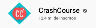101 canais do YouTube para aprender inglês de graça CrashCourse