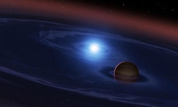 Phát hiện một hành tinh đang hình thành quanh hai ngôi sao