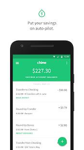 chime bank account balance