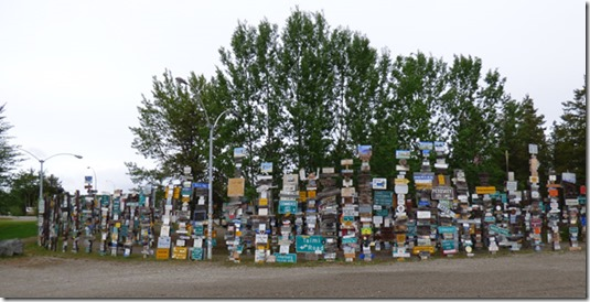 Sign Post Forest, Watson Lake, Alaska Highway