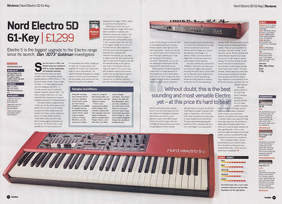 Nord Electro5D FM 560