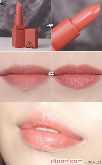 Bộ sưu tập Son lì 3CE Mood Recipe Matte Lip Color của Hàn Quốc + Hình 5