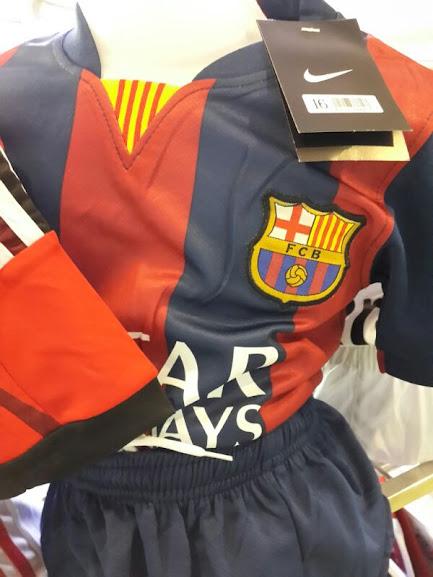 Jersey Anak Barcelona Home 2014-2015