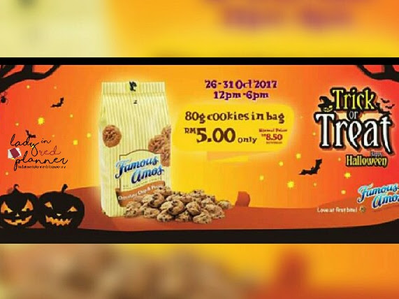 PROMOSI TRICK OR TREAT! BY FAMOUS AMOS..