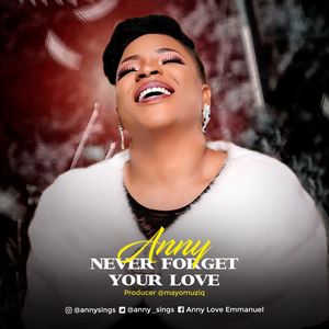 Anny - Never Forget Your Love Lyrics