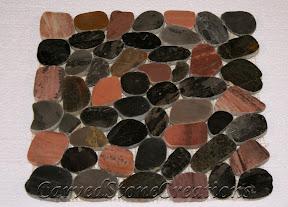 Cut, Flooring, Flooring & Mosaics, Interior, Mosaic, Natural, Pebbles, Polished, Stone, Tile