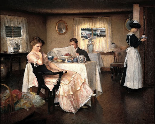 William McGregor Paxton - The Breakfast, 1911