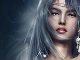White Hair Beauty