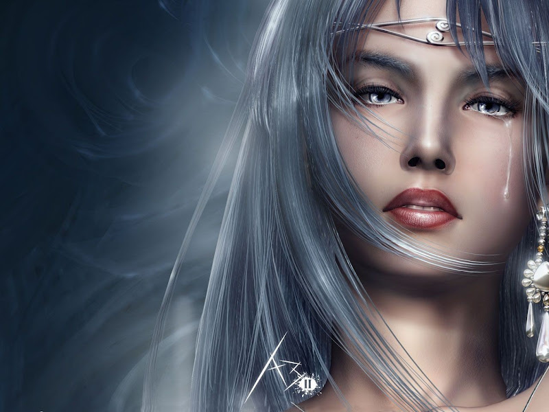 White Hair Beauty, Beautiful Magic Girls 3