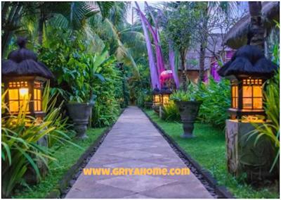 Lampu dan Pencahayaan Khas Bali