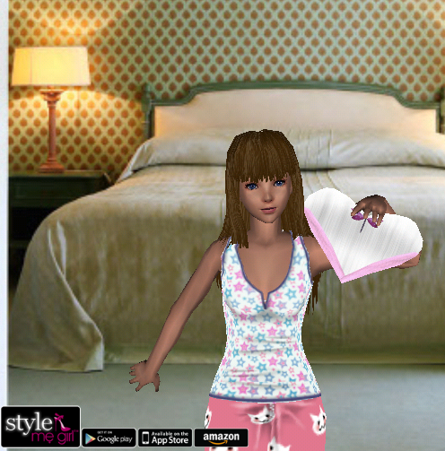 Style Me Girl Level 3 - Mia - Slumber Party Sleepover - Fuller view