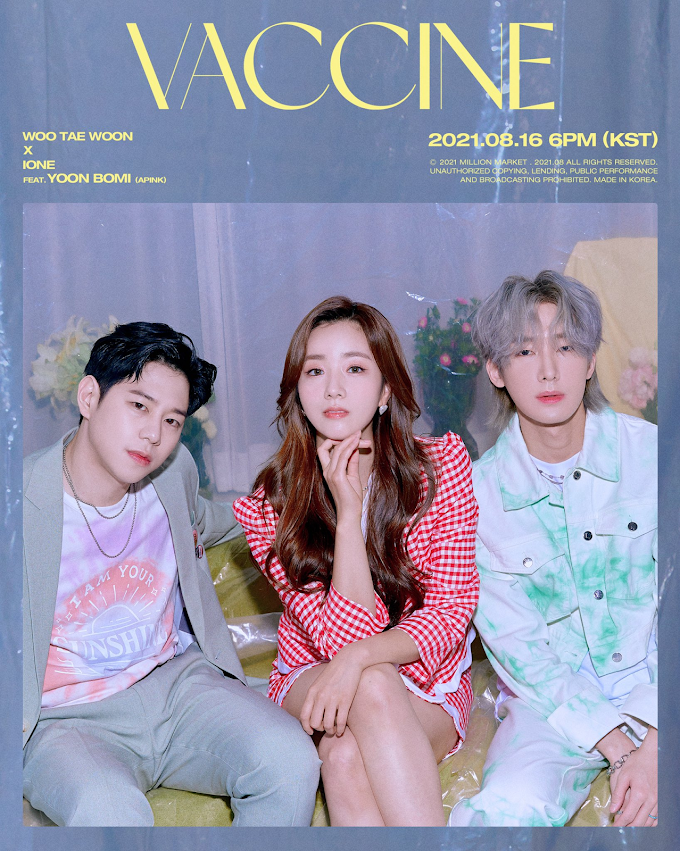 """[WATCH] Woo Taewoon And IONE Reunite For New Single, """"Vaccine"""""""