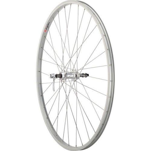 Quality Wheels Value Series 1 Rear Wheel Rim Brake 700c 135mm Freewheel Silver