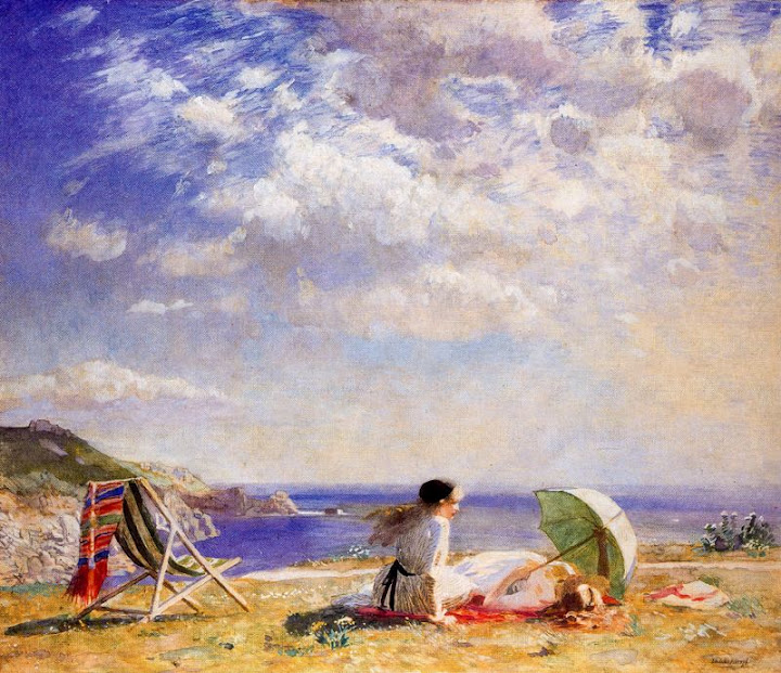 Laura Knight - Wind and Sun