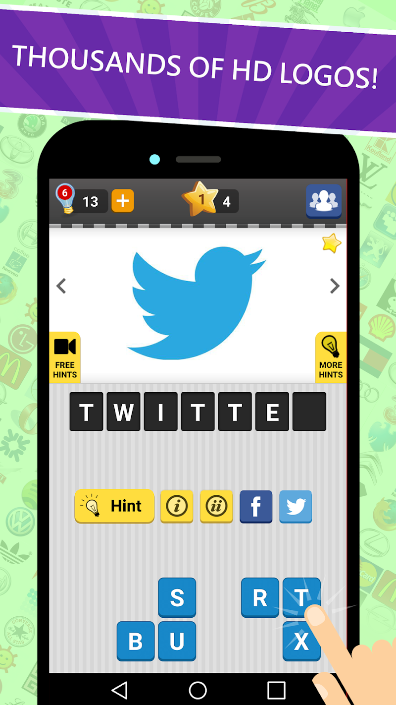 Logo Game: Guess Brand Quiz Screenshot 10