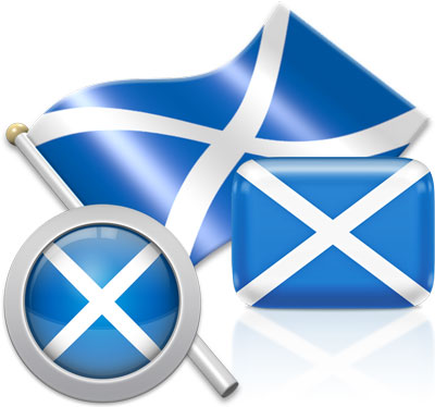 Scots flag icons pictures collection
