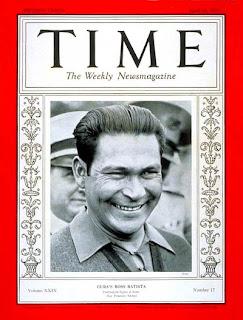 Fulgencio Batista - Presidente Eleito Democraticamente em Cuba - 1940