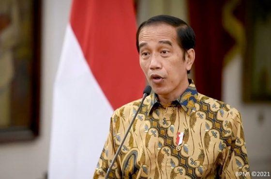 Jokowi: Peringkat Vaksinasi Covid-19 Indonesia Nggak Jelek-jelek Amat