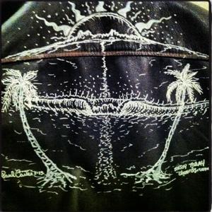 surf,art,drawing,bomber,jacket,tropical,art,socal,artist,clothing,san,clemente