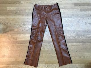 Prada Leather Trousers