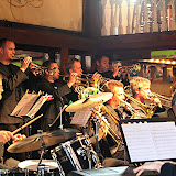 A special treat for local Jazz fans, the Randers Big Band from Denmark had an available date on their U.S. tour and performed for our May Jazz Gumbo. It was a great display of European flavored big band jazz, and the Jazz Society turned out to enjoy the music.