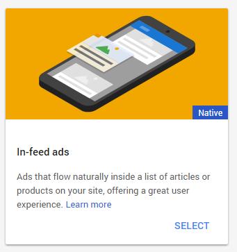 InFeed AdSense