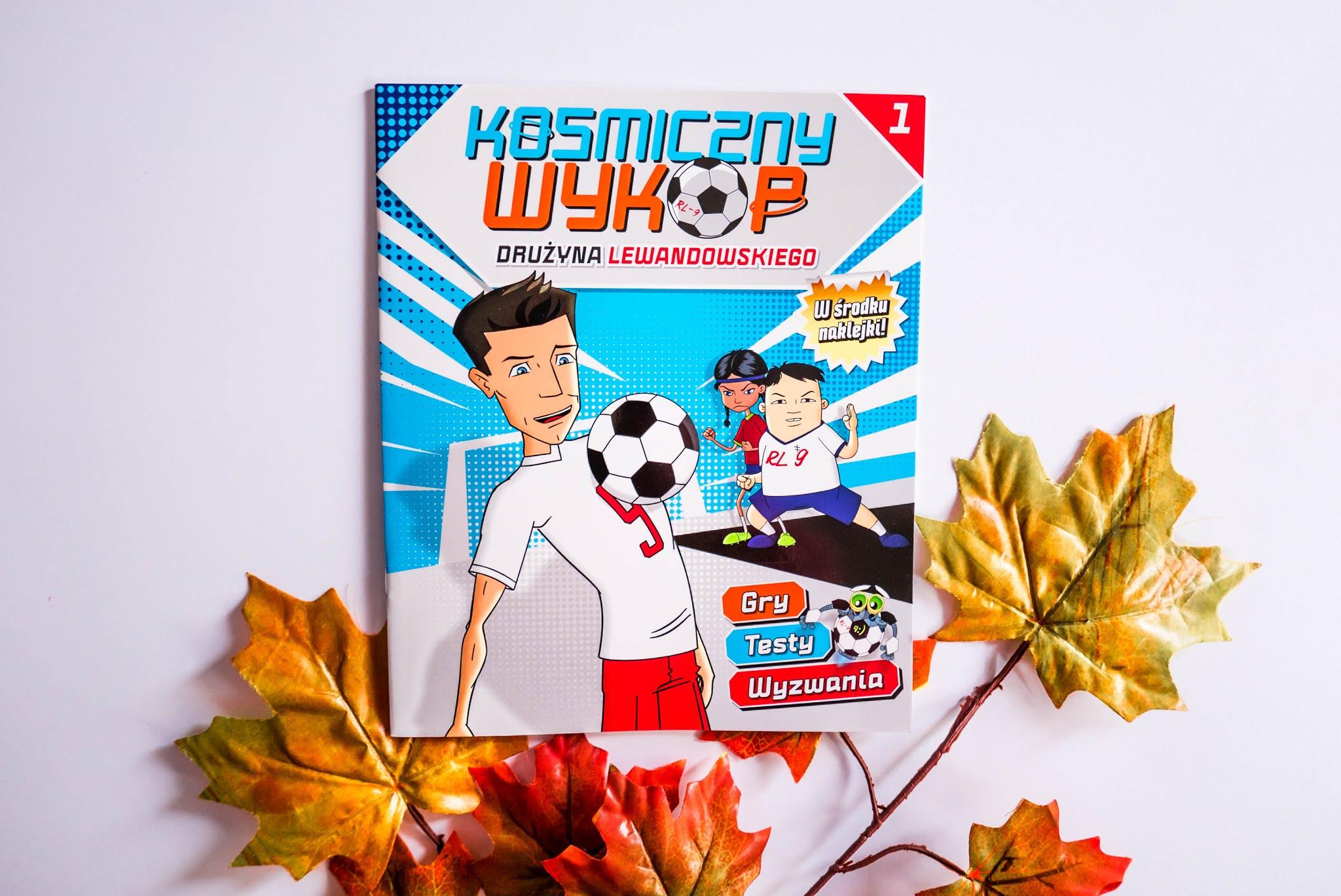 Książka dla fana Lewandowskiego