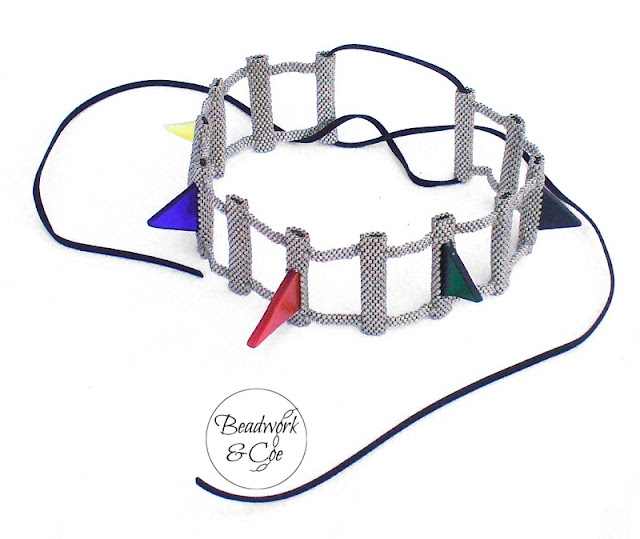 Spiky Choker by Beadwork and Coe