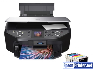 Download Epson RX610 resetter application