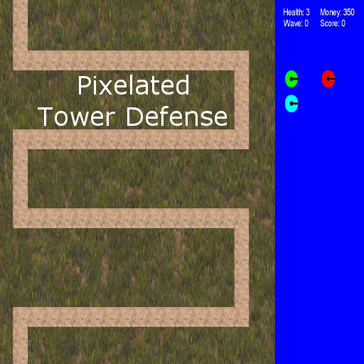 Pixelated Tower Defense