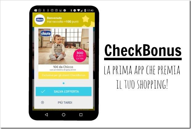 CheckBonus: la prima app che premia il tuo shopping